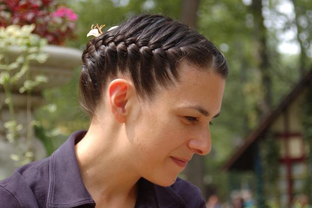 Opsat hår til festlighederne