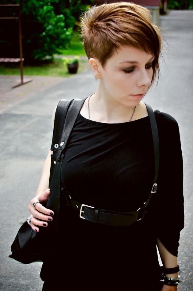 Det sorte tøj og streetwear