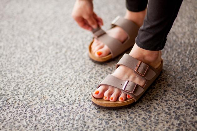 Birkenstock er det nye sort inden for fodtøj