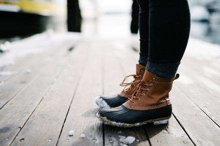 Hold fødderne tørre, når det regner